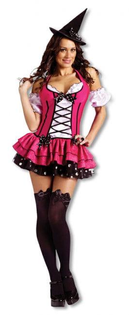 Zuckerscharfe Hexe Kostüm Small
