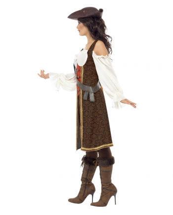 Sexy Piratenkapitänin Kostüm