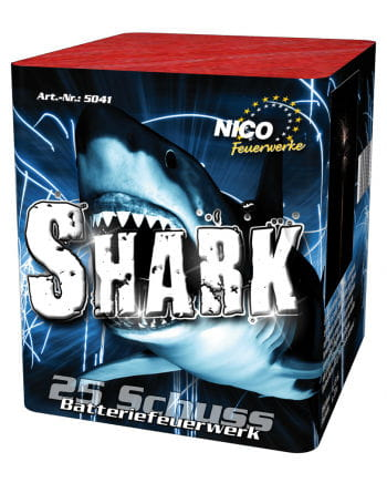 Shark Battery Fireworks 25 shots