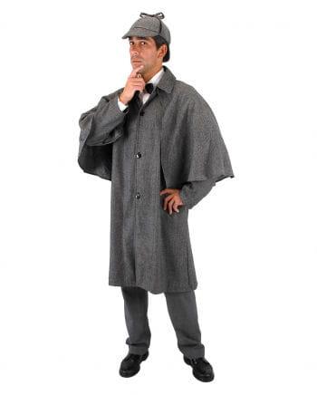 Sherlock Holmes detective costume cloak