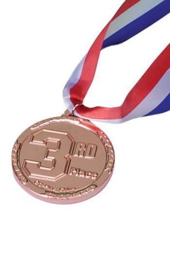 3. Platz Medallie Bronze
