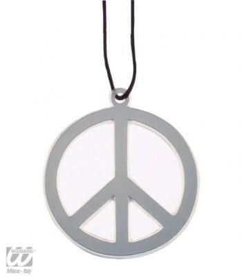 Peace Necklace Silver
