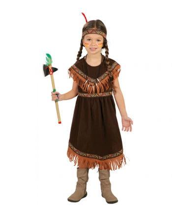 Sioux Indianerin Kinderkostüm