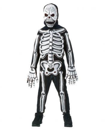 Skelett Kinderkostüm 3D M