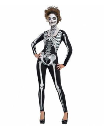 Skelett Catsuit für Damen