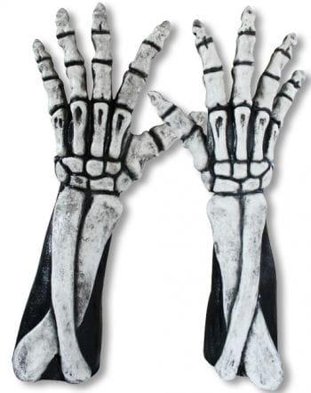 Long Skeleton Hands white