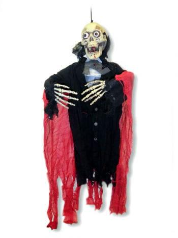 Skeleton Vampire Hanging Prop