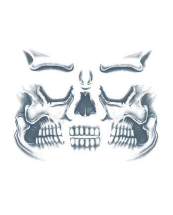 Skull Face Tattoo