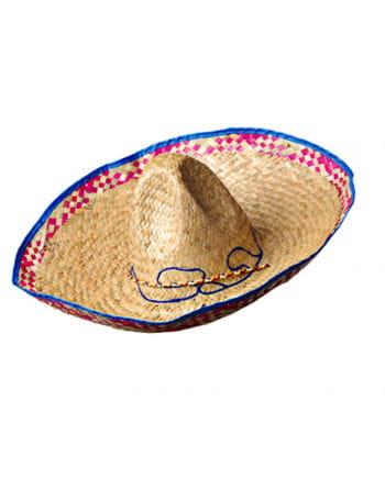 Sombrero With Blue Border