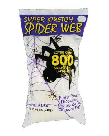 Halloween cobwebs white 240g