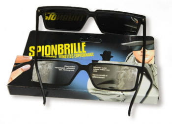 Spy Glasses with Mirror Effect