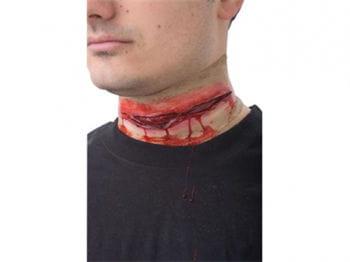 Slasher neck wound