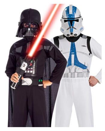 Darth Vader & Clone Trooper Kinderkostüm Set 5-teilig