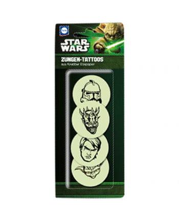 Star Wars tongues tattoos