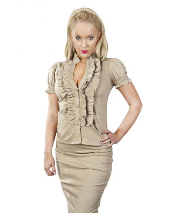 Burleska blouse cream