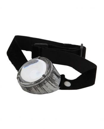 Steampunk Monokel Silber