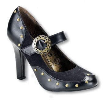 Steampunk Schuhe mit Riemen 36 UK 5 US 7