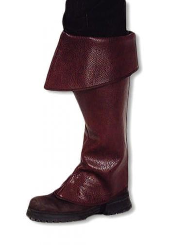 Brown boot tops