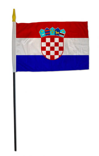Stock Flag CROATIA