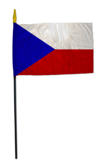 Stock Flag CZECH REPUBLIC