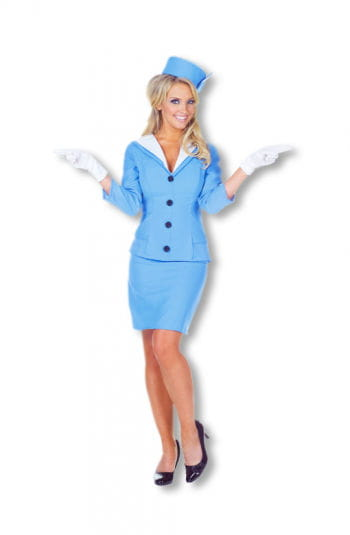 Sweet Flight Attendant Costume