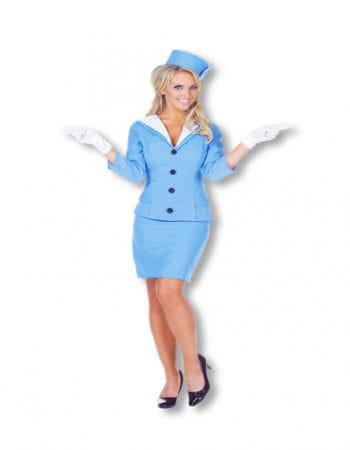 Süße Flugbegleiterin Kostüm XL