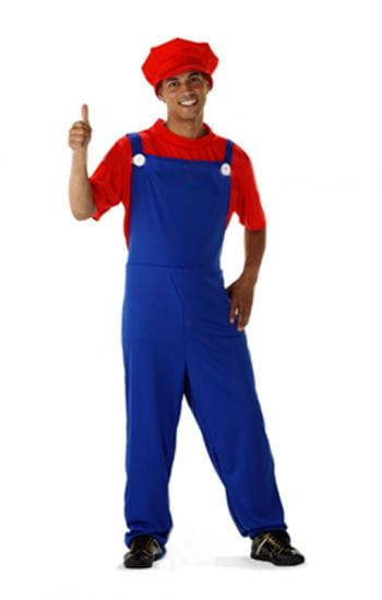 Super Klempner Deluxe Kostüm