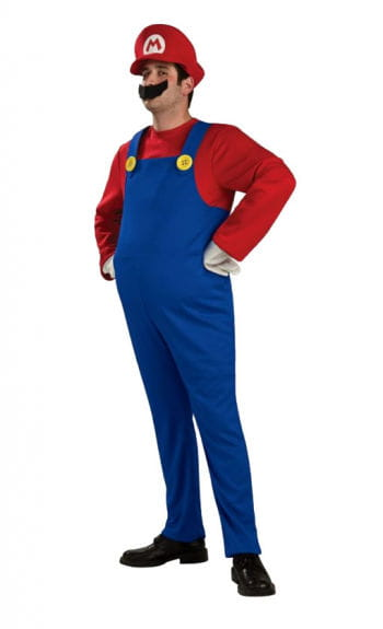 Super Mario Costume Large
