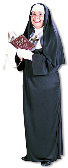 Super nuns costume Plus Size