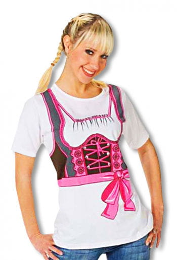 "T-Shirt ""Dirndl"" 38 M / 38"
