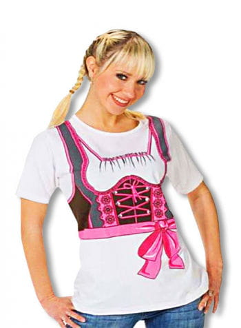 T-Shirt Dirndl Plus Size