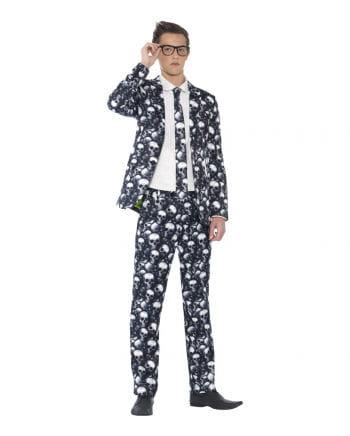 Totenkopf Anzug für Teens