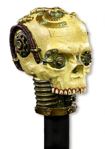Skull Head Walking Stick Steampunk