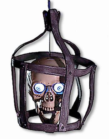 Talking Skull cage Animatronic