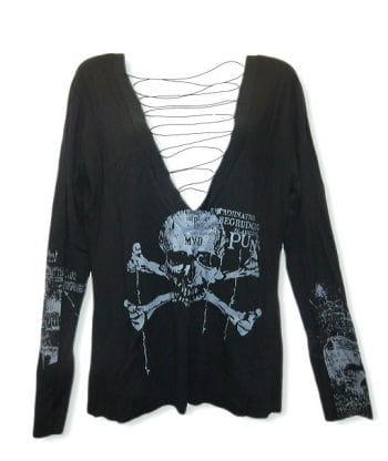 Totenkopf Langarm Shirt G.L