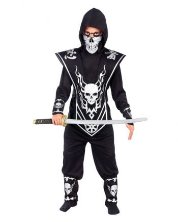 Skull Ninja Child Costume L