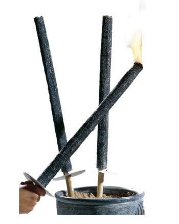 Cloth wax torch