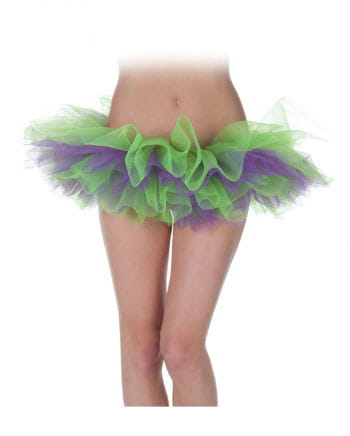 Tutu green / purple