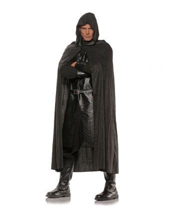 Cloak In Suede Look Black