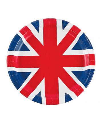 United Kingdom 8 paper plates St.