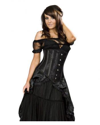 Burleska Unterbrustcorsage black