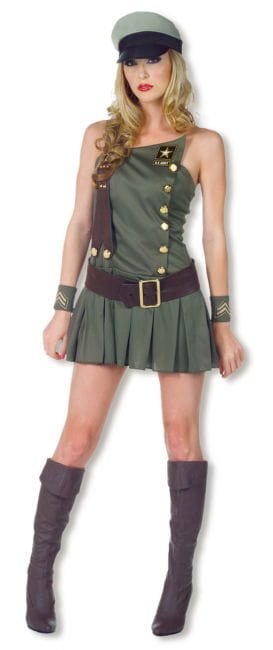 US Army Uniformkleid