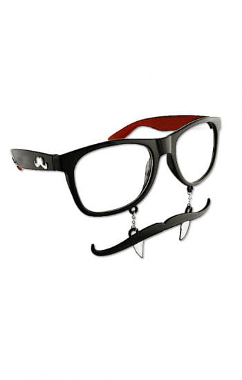 Vampire glasses with mustache