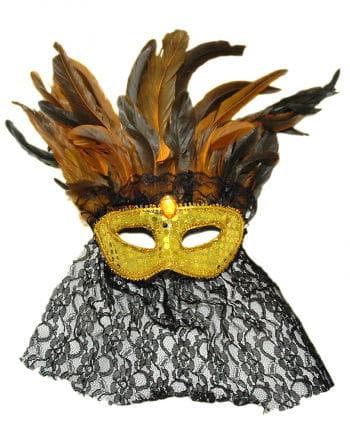 Venetian Feather Eye Mask