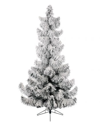 Snowy pine with stand 150 cm
