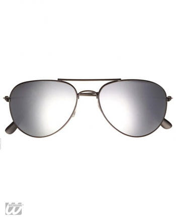 Mirrored Police and Pilot Glasses