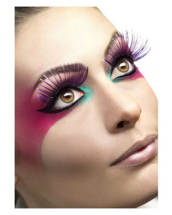 Eyelashes violet / metallic