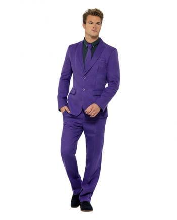 Men`s purple suit
