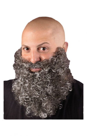 Beard curling Gray