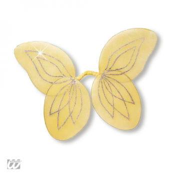 Waldfeen Flügel für Kinder gelb